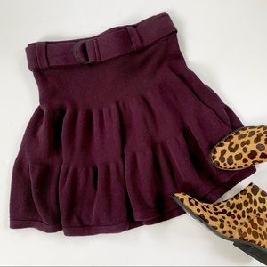 Comptoir Des Cotonniers Wool Blend Knit Skirt S